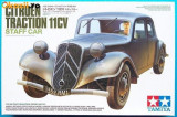 + Macheta 1/35 Tamiya 35301 - Citroen Traction 11CV Staff Car +