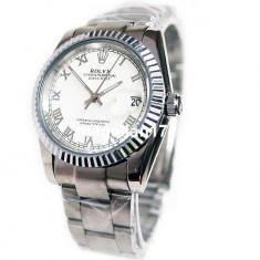 Rolex DateJust Silver Automatic ! ! ! Calitate Premium ! Cutie Cadou ! ! ! - Ceas barbatesc Rolex, Lux - elegant, Mecanic-Automatic, Inox, Data