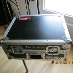 Case - husa - valiza - geanta originala pt. pick-up TECHNICS SL 1200/ 1210MK/II Altele