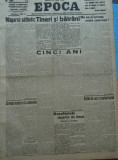 Epoca , ziar al Partidului Conservator , 12 Iunie 1935 , Antonescu , Tatarascu