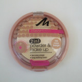 PUDRA PENTRU TEN GRAS, ACNEIC MANHATTAN CLEAR FACE 2IN1 POWDER 78 ROSE BEIGE, Compacta