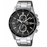 Ceas Casio Edifice efr504d-1a1 cronograf, barbatesc - Ceas barbatesc Casio, Sport, Quartz, Inox, Piele