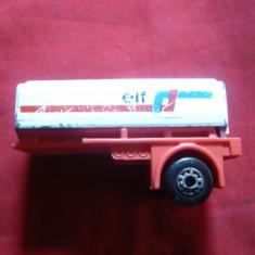 Remorca Cisterna Elf - Matchbox, scala 1/135, metal, L= 5, 5 cm