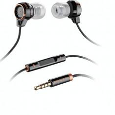Casti Plantronics cu fir BackBeat 216, Black, Casti In Ear, Mufa 3, 5mm, Active Noise Cancelling