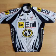 Tricou ciclism Ellegi Full Zip Made in Italy; marime 5 (L), vezi dim.; ca nou