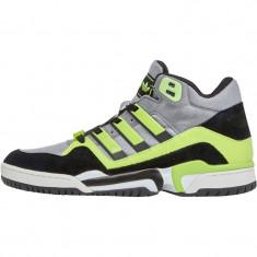 Adidasi Adidas Originals Mens Torsion 92 Hi-Tops marimea 42 2/3 - Ghete barbati Adidas, Culoare: Gri, Piele intoarsa