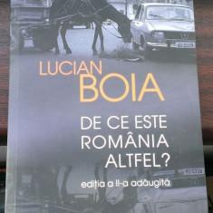 Lucian Boia - De ce este Romania altfel? Editia 2a adaugita (Humanitas) - Carte Istorie