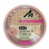 PUDRA DE TEN MATIFIANTA 2 IN 1 MANHATTAN CLEAR FACE 2IN1 POWDER 79 SUN BEIGE