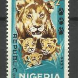 NIGERIA 1965 MNH - Timbre straine, Nestampilat