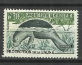 NIGER 1962, Nestampilat