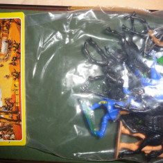 Set figurine din plastic COMANSI - Davy Crockett - El Heroe del Alamo