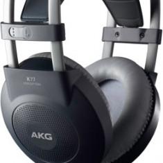 Casti AKG K77 PRO Over Ear - Studio, 2.5 metri cablu, jack 3.5mm + 6.3mm, Black - Casti DJ