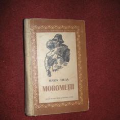 Marin Preda - Morometii (editia a ll-a -1957, coperta ilustrata de J. Perahim) - Roman