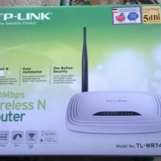 ROUTER WIRELESS TP LINK WR740N /NOU/ - Router TP-Link TL-WR740N