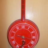 CEAS TIGAIE ANII ''70 -ROMANIA - Ceas de perete