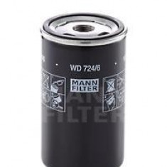 Filtru hidraulic, cutie de viteze automata - MANN-FILTER WD 724/6