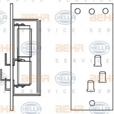 Rezistor, ventilator habitaclu MAN M 90 12.152 F, 12.152 FL - HELLA 9ML 351 332-151 - Motor Ventilator Incalzire