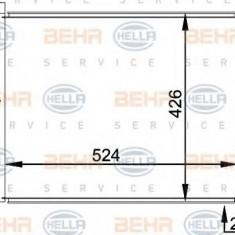 Condensator, climatizare BMW 3 limuzina 318 i - HELLA 8FC 351 038-201 - Radiator aer conditionat