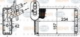 Schimbator caldura, incalzire habitaclu VW SHARAN 1.9 TDI - HELLA 8FH 351 313-451