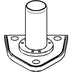 Rulment priza directa, ambreiaj CITROËN BERLINGO 1.9 D - TOPRAN 722 154 - Ghidaj rulment presiune