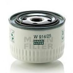 Filtru hidraulic, cutie de viteze automata RENAULT TRUCKS Premium Route 385.19, 400.19 - MANN-FILTER W 914/25