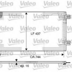 Condensator, climatizare CHRYSLER GRAND VOYAGER IV 2.8 CRD - VALEO 817739 - Radiator aer conditionat
