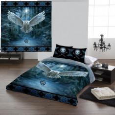 Set lenjerie de pat din bumbac Descoperă magia 200x200