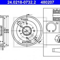 Tambur frana RENAULT SUPER 5 1.0 - ATE 24.0218-0732.2 - Saboti frana auto