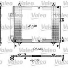 Condensator, climatizare LANCIA PHEDRA 2.0 JTD - VALEO 817579 - Radiator aer conditionat