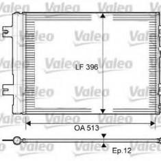 Condensator, climatizare DACIA SANDERO 1.2 16V LPG - VALEO 814077 - Radiator aer conditionat