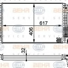 Intercooler, compresor SKODA SUPERB 1.8 TSI - HELLA 8ML 376 723-541 - Intercooler turbo