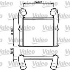 Intercooler, compresor DAF 95 FA 95.380 - VALEO 816793 - Intercooler turbo