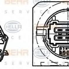 Rezistor, ventilator habitaclu PEUGEOT 206 hatchback 1.4 i - HELLA 9ML 351 332-261 - Motor Ventilator Incalzire