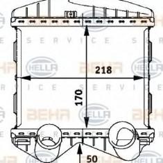 Intercooler, compresor SMART CITY-COUPE 0.6 - HELLA 8ML 376 723-021 - Intercooler turbo