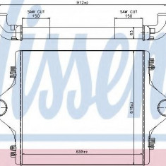 Intercooler, compresor - NISSENS 96977 - Intercooler turbo