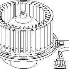 Electromotor, ventilatie interioara VW TRANSPORTER / CARAVELLE Mk IV bus 2.4 D Syncro - TOPRAN 109 898 - Motor Ventilator Incalzire
