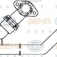 Racord, schimbator de caldura - HELLA 8FZ 351 314-291 - Sistem Incalzire Auto