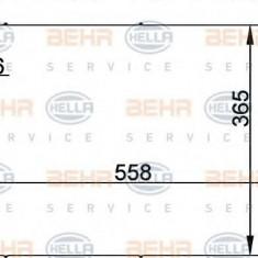 Condensator, climatizare FORD IKON V 1.4 16V - HELLA 8FC 351 300-354 - Radiator aer conditionat