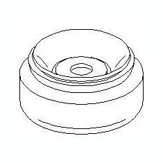 Rulment sarcina suport arc AUDI 4000 1.3 - TOPRAN 104 410 - Rulment amortizor