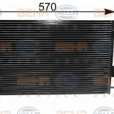 Condensator, climatizare CITROËN XANTIA 1.6 i - HELLA 8FC 351 035-231 - Radiator aer conditionat