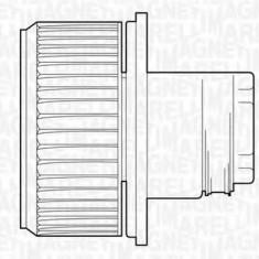 Ventilator, habitaclu FIAT DUCATO caroserie 2.0 - MAGNETI MARELLI 069412523010, Magneti Marelli