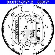 Set saboti frana, frana de mana MERCEDES-BENZ HECKFLOSSE 220 B - ATE 03.0137-0171.2 - Saboti Frana de Mana