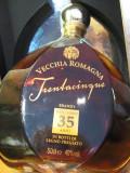 Brandy vecchia romagna, mai multe di 35 ani cl 50 gr.40