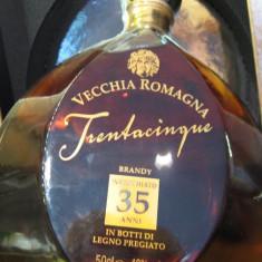 Brandy vecchia romagna, mai multe di 35 ani cl 50 gr.40 - Cognac