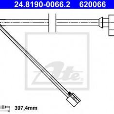 Senzor de avertizare, uzura placute de frana PORSCHE CAYENNE S 4.5 - ATE 24.8190-0066.2 - Senzor placute