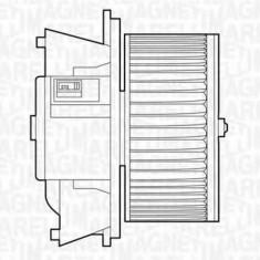Ventilator, habitaclu FIAT PUNTO 1.2 60 - MAGNETI MARELLI 069412503010, Magneti Marelli