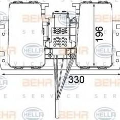 Ventilator, habitaclu - HELLA 8EW 351 104-031 - Motor Ventilator Incalzire