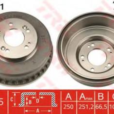 Tambur frana KIA SEDONA I 2.5 V6 - TRW DB4331 - Saboti frana auto