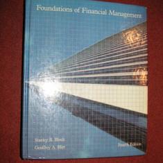 Foundations of Financial Management - Stanley B.Block, Geoffrey A.Hirt - Carte Management