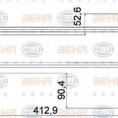 Racord, schimbator de caldura PORSCHE CAYENNE S 4.5 - HELLA 8MY 376 755-561 - Sistem Incalzire Auto